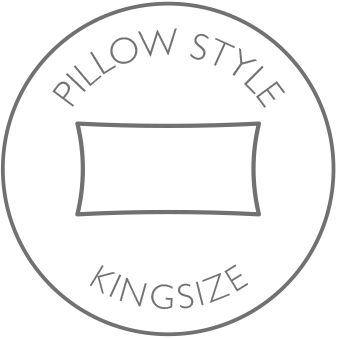 Pillow style - kingsize