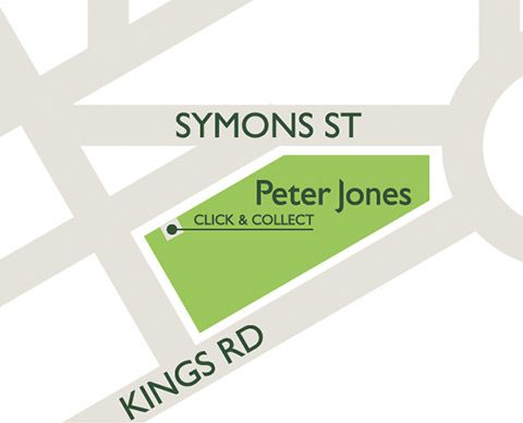 Peter Jones Click & Collect location