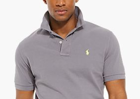 20% off selected men's polo shirts
