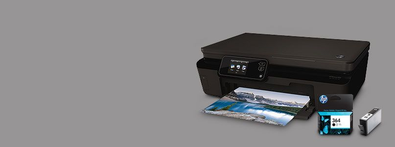The HP Photosmart 5524 printer