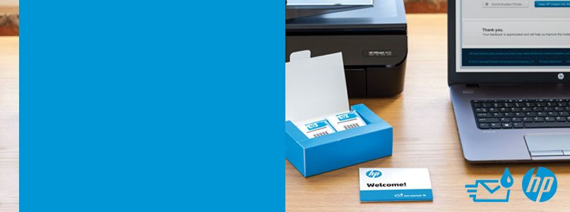 The HP Instant Ink replacement service