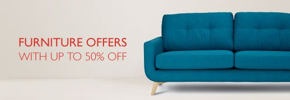 Shop our Furniture offers - up to 50% off selected lines
