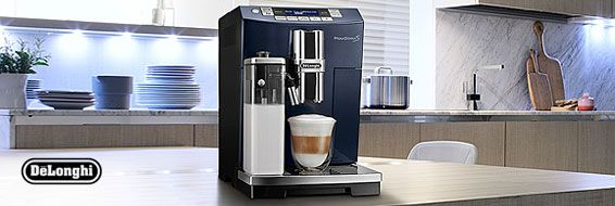 Exclusive DeLonghi coffee machines