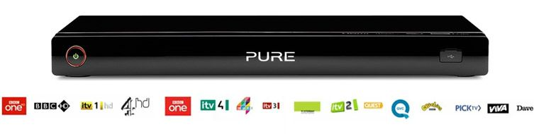 Pure freeview box image