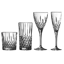 Buy Royal Doulton Earlswood Glassware  Online at johnlewis.com