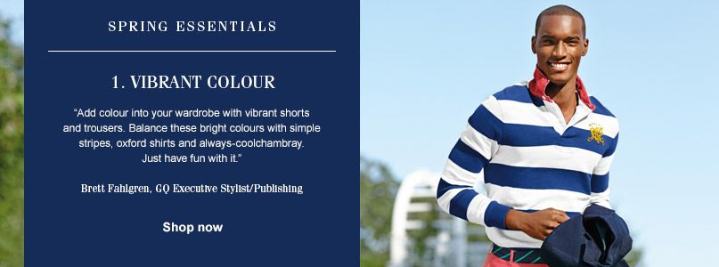 Ralph Lauren Spring Essentials - Vibrant Colour