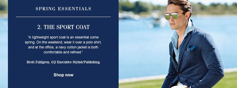 Ralph Lauren Spring Essentials - Sport Coat