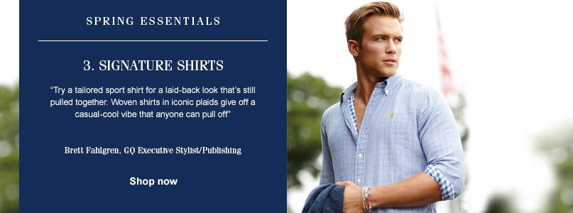 Ralph Lauren Spring Essentials - Signature Shirts