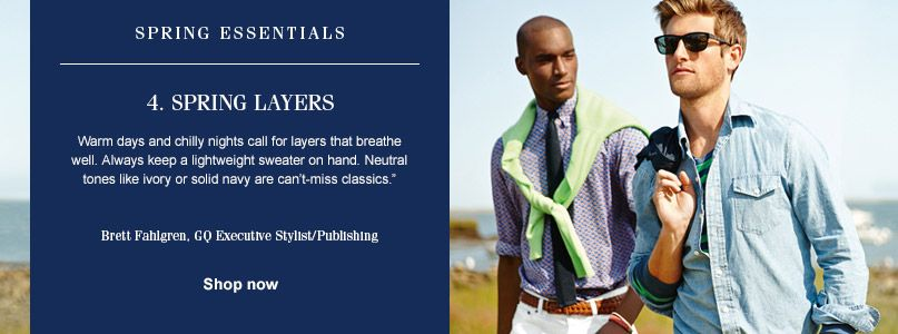 Ralph Lauren Spring Essentials - Spring Layers