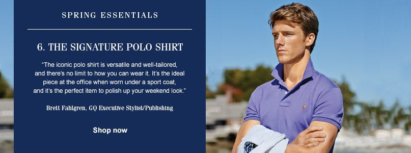 Ralph Lauren Spring Essentials - Signature Polo Shirt