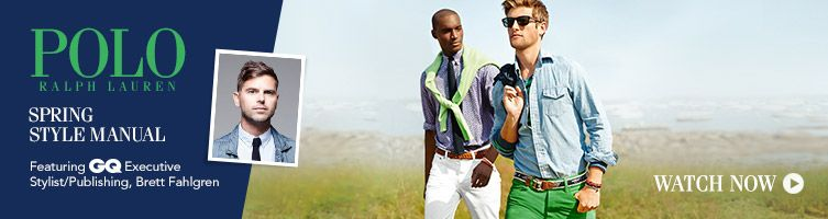 Ralph Lauren Spring style guide video