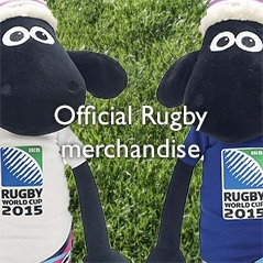Official Rugby merchandise