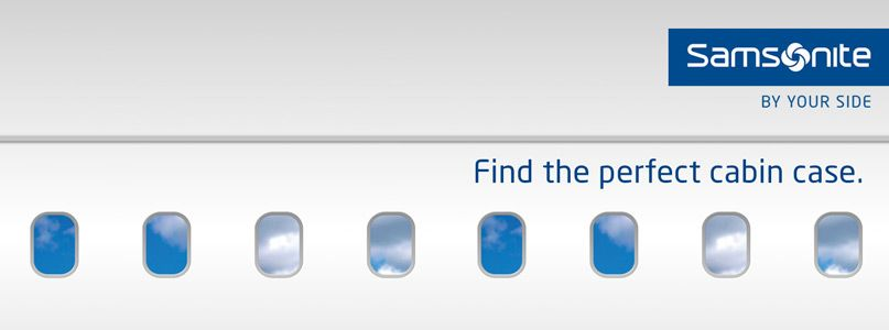 Samsonite - Find the perfect cabin case.