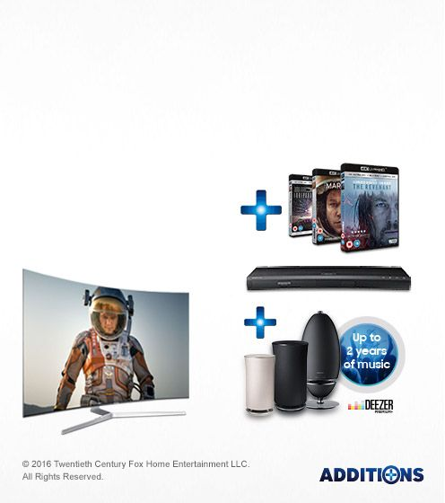 Discover Samsung's Ultra HD Premium entertainment experience with free movies