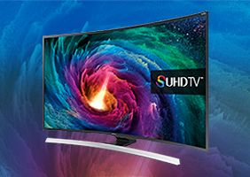 Up to £300 cashback when you trade up to the Samsung Curved UHDTV