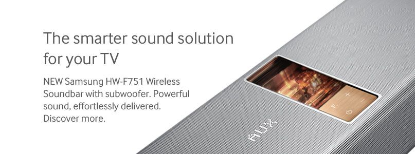 The smarter sound solution for your TV