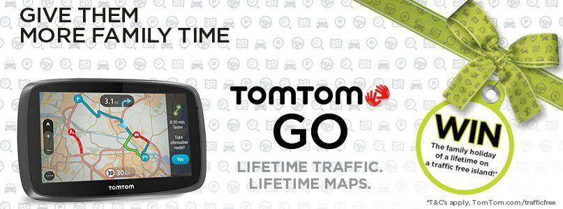 TomTom Go - Lifetime traffic, lifetime maps