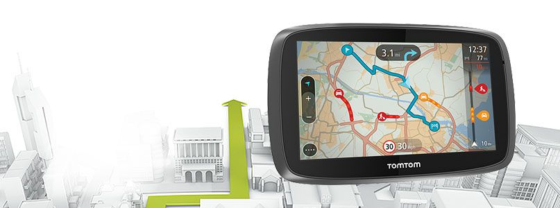 The all new TomTom Go