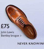 £75 John Lewis Bentley brogue - Shop now