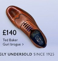 £140 Ted Baker Guri brogue - Shop now