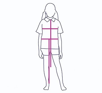 Schoolwear sizing guide