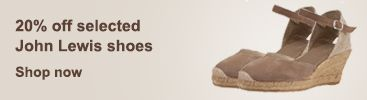 20% off selected John Lewis shoes
