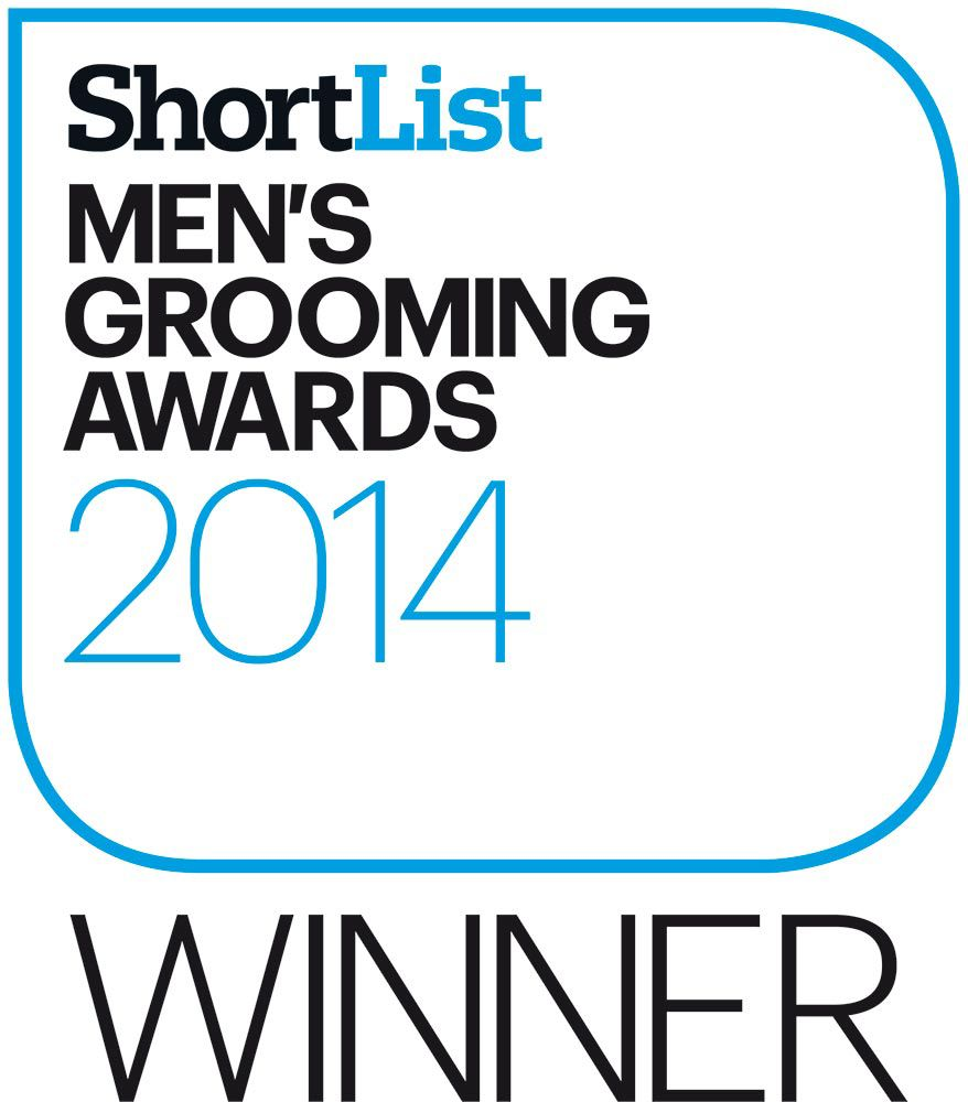 ShortList Men's Grooming Award Winner 2014