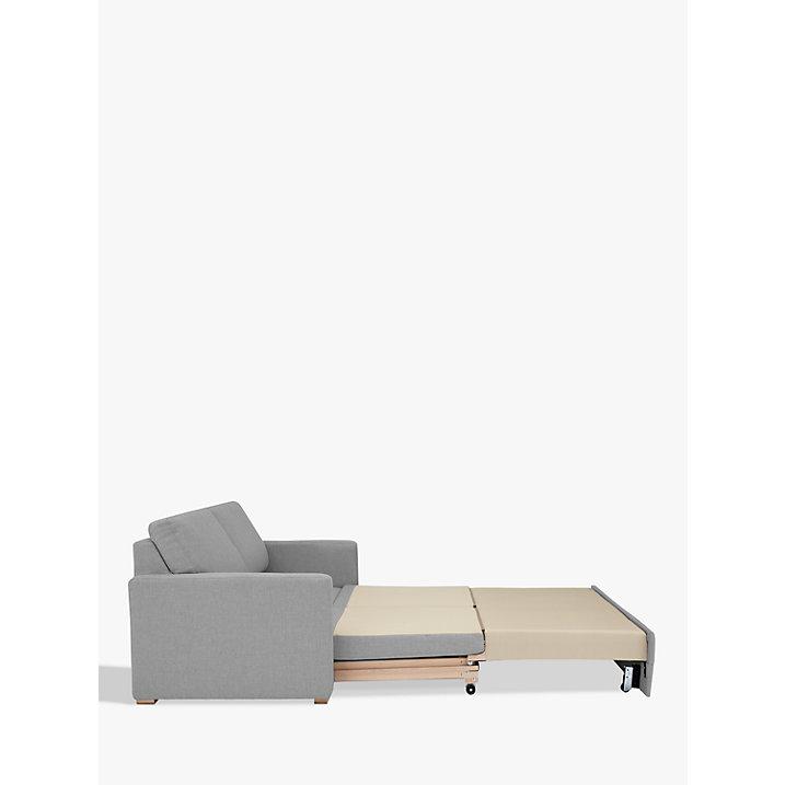 John lewis siesta grey woven fabric sofa bed ebay for Sofa bed uk john lewis