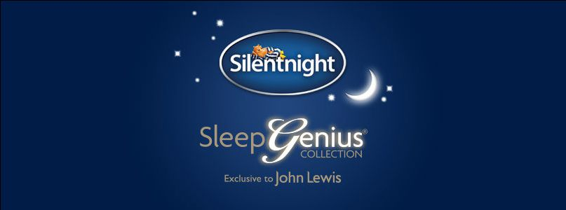 Sleep genius collect exclusively at John Lewis