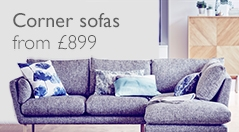 Corner sofas from £899