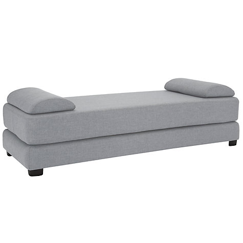 Buy john lewis sonoma sofa bed light leg erin charcoal for Sofa bed john lewis