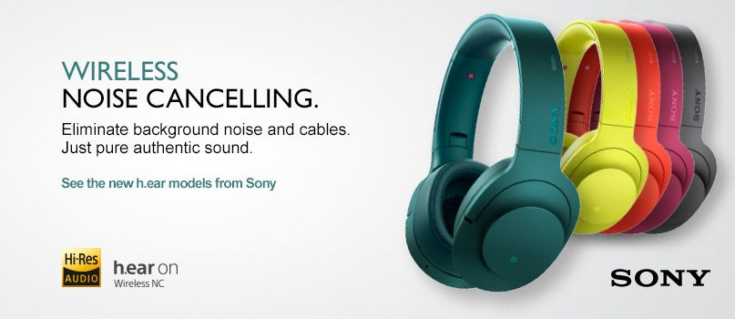 Wireless. Noise cancelling.