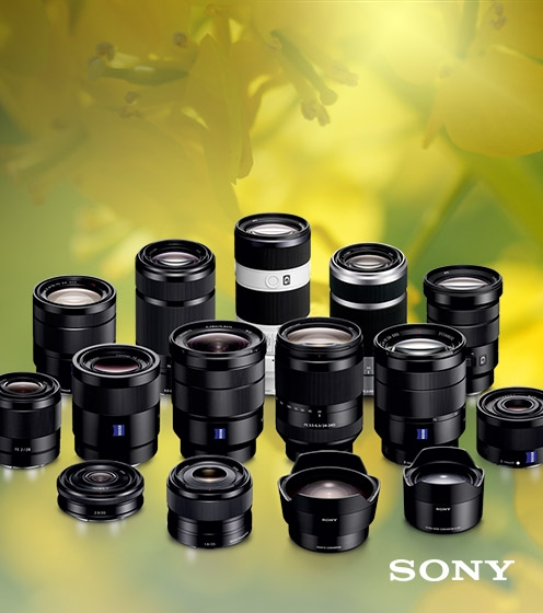 Sony lens cashback summer offer
