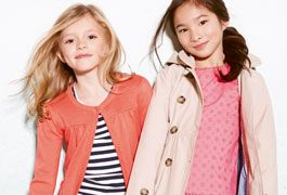 New arrivals in girlswear