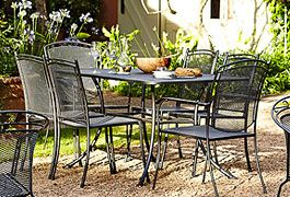 New season garden furniture and barbecues