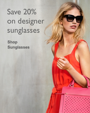 Save 20% on selected sunglasses