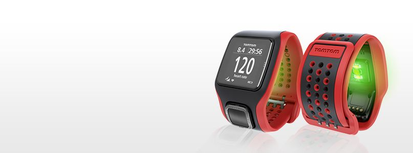 Tom Tom's CARDIO Runner & Multi-Sports watch