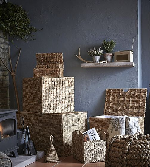 Boxes and baskets