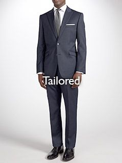 Tailored fitting suits