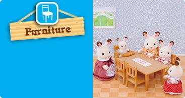 Sylvanian families, furniture