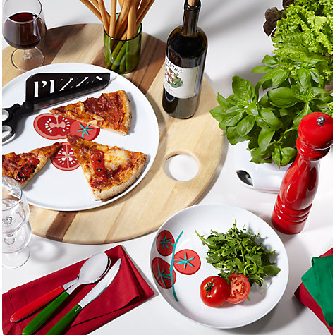 Buy John Lewis Italia Rustic Acacia Pizza Board Online at johnlewis.com