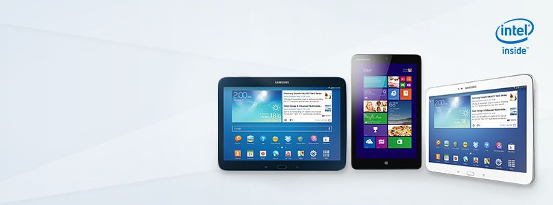 Great Tablets have Intel Inside®