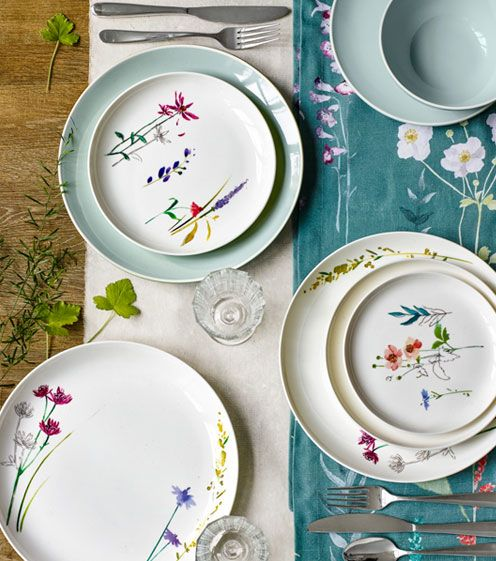 John Lewis Leckford tableware
