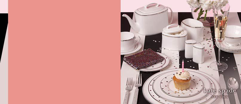 New in: Kate Spade tableware