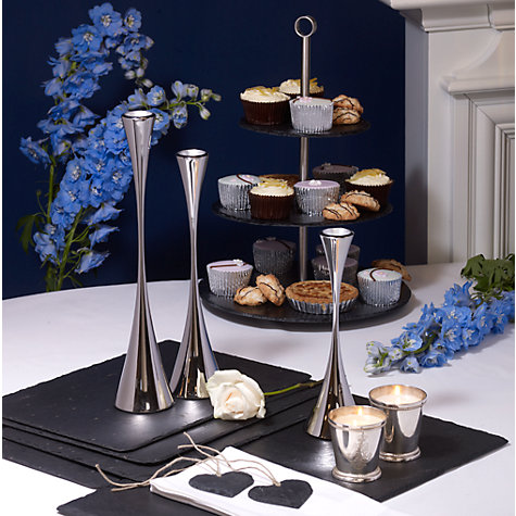 Buy Robert Welch Arden Candlestick, Set of 3 Online at johnlewis.com