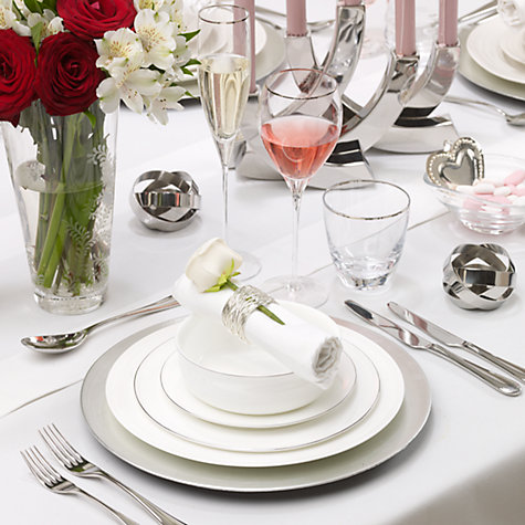 Buy Queensberry Hunt for John Lewis Platinum Tableware Online at johnlewis.com