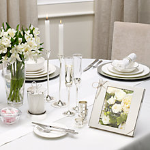 Buy Vera Wang for Wedgwood Love Knots Silverware Online at johnlewis.com