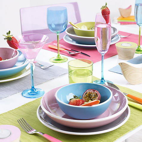 Buy John Lewis Vero Cutlery, Pink  Online at johnlewis.com