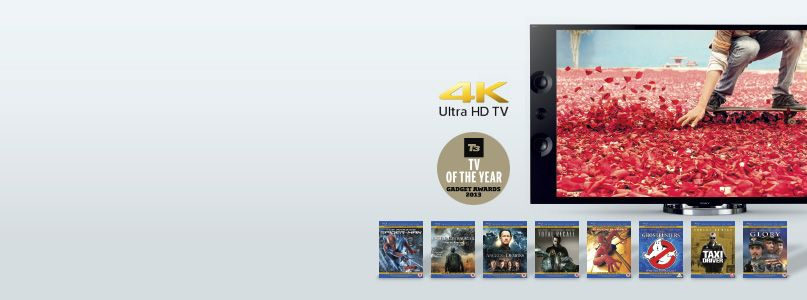 Sony - eight mastered in 4k blu-ray disc with Free Sony X9 TV