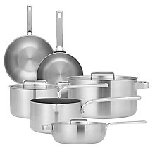 Buy John Lewis Thermacore 5-Ply Non-Stick Cookware Online at johnlewis.com